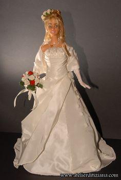 Le Tiziana Atelier - Barbie OOAK main - détail photo