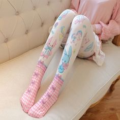 4d1ef0270c5 Harajuku Kawaii Bear Rabbit Tights sold by Moooh! Shop more products from  Moooh! on Storenvy