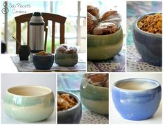 Cuencos en torno #sofipocetticeramica #Ceramica #pottery #deco #torno #cuenco #ensaladera #botella #home