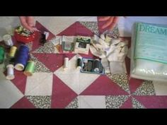 Video: How to prepare a quilt for machine quilting
