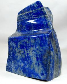 890 Grams Deep Blue Self Stand Lapis Lazuli Polished Tumble From Afghanistan