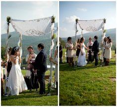 Roxbury, NY Modern Jewish Wedding from JBM Photography | The Modern Jewish Wedding