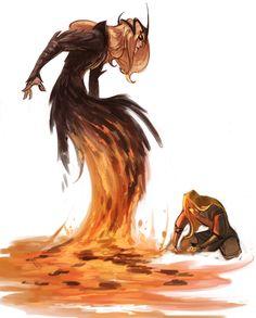 Sauron and Finrod