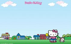 Wallpaper de Hello Kitty  http://fotospara.net/hello-kitty