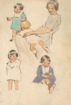 Mother and Child - Muriel Dawson