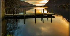 Ullswater Boathouse Lake District National Park - UK England #photo by Simon Booth #landscape nature sunset reflection lake: for https://handbooking.tech.blog Picturing https://www.pinterest.com/handbook62/picturing/