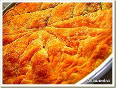 Μα...γυρεύοντας με την Αλεξάνδρα: Πίτα πενήντα-πενήντα
