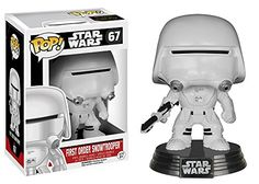 Star Wars: Episode VII Pop!s are coming to stores just in-time for The Force Awakens! The latest generation of cold weather assault Stormtroopers, Snowtroop