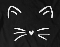 Cute Cat Shirt Kitty Kitten T Shirt Tee Mens Womens Ladies Funny Present I Love Cats Animal Lover T-shirt Whiskers Face Girlfriend Fashion