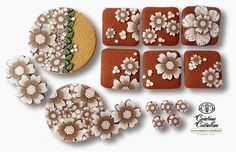 Fimo Cristalline, tuto et bijoux en polymère: Des fleurs, des fleurs et encore ...