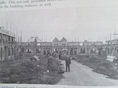 Thomand Rd being built Photo Engraving, Dublin Ireland, Old Photos, House Building, Places, Paintings, Art, Antique Photos, Building Homes