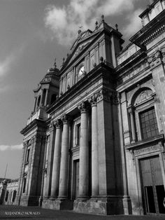 """Catedral Metropolitana de Guatemala"""