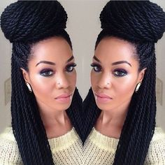 Astounding Styles For Natural Hair Twists And Style On Pinterest Short Hairstyles Gunalazisus