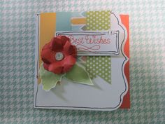 "3 x 3"" Notecard made from Zoe Paper Pack-Item Number: X7197B"
