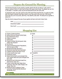 free garden journal printables - garden planning, layout, and shopping list