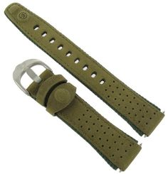 18mm Timex Expedition Textile and Leather Layer Olive Green Watch Band Strap TX247781W >>> Find out more about the great product at the image link.