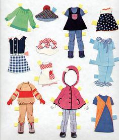 Vintage Whitman Remco Heidi Hildy JAN Paper Dolls 1967 CUT Nice | eBay