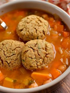 Try these delicious Low Syn Vegan Lentil Dumplings - perfect addition to stew, soup or casserole. Slimming World and Weight Watchers friendly Slimming World Meal Prep, Slimming Eats, Slimming World Recipes, Soup Recipes, Vegetarian Recipes, Vegan Vegetarian, Vegetarian Casserole, Rice Recipes, Vegan Food
