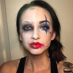 Harley and the Joker #harleyquinnandthejoker  #anastasiabeverlyhills #anastasia #abh #anastasiabrows #anastasiaglow #highlight #cutcrease #tarte #tartecosmetics #contour #contourkit #nudelipstick #nyxcosmetics #houseoflashes #hol #tatted #tatooed #tatoos #tattoo #tattooedmom #nyx #urbandecay #urbandecaycosmetics #liquidlipstick #houseoflashes #falsies #fakelashes #happyhalloween #halloween #halloweenmakeup #makeup #harleyquinn #costume #joker #costumeidea
