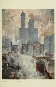 Martin Lewis, print-maker, artist (1881-1962) 'View over the city'