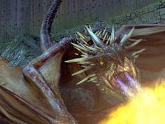 Dragon WB F4 Triwizard Tournament Task One Norwegian Ridgeback Still 100615 Land