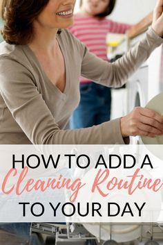 How To Add A Cleaning Routine | Adding Chore Baskets To Create A Family Cleaning Routine