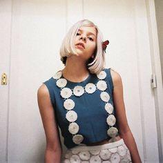 AURORA @AURORAmusic by @aplidgett for @sundaygirlmag Aurora Aksnes for Sunday Girl magazine I think the date is Feb 2016 -