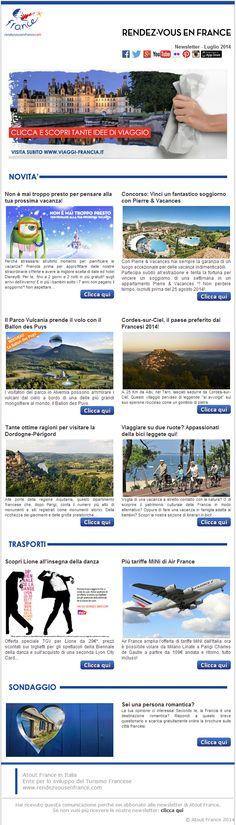 Vacanze in bici, Dordogne-Périgord, Disneyland Paris e un soggiorno da vincere con Pierre&Vacances...  #RDVFrance #Francia #viaggi #vacanze #ViaggiFrancia #newsletter
