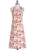 ModCloth features unique, quirky and cute kitchen decor! Add some spice to your room with these kitchen accessories. Browse the collection and shop today! Cute Kitchen, Vintage Kitchen, Retro Vintage, Pin Up Style, My Style, Linen Apron, 50 Fashion, Pink And Green, Pink White