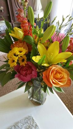June 8, 2016- Flowers delivered today...just because.