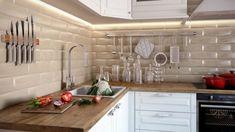 Szép konyha panel méretekben