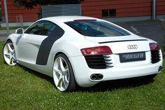 Rieger Audi r8  Audi r8 mit Extremradsatz  Der Rieger Audi r8 und ein Radsatz der Superlative. Zwei Welten treffen sich. Und es kommt zusammen was zusammen gehört.  Read more: http://www.geniales-tuning.de/rieger-audi-r8.html#ixzz3JP9B4Lj9 Follow us: @genialestuning on Twitter | genialestuning on Facebook