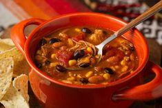 7 Can Soup 7 Can Soup, Can Soup Recipe, Soup Recipes, Crockpot Recipes, Chicken Recipes, Cooking Recipes, Chicken Taco Soup, Slow Cooker Roast Beef