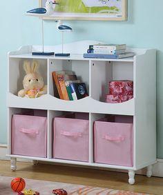 Love this White Cubby Storage Cabinet on #zulily! #zulilyfinds