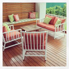 bamboo outdoor chairs kroehler chair value 105 best alboo aluminium images lawn furniture coral and green on the custom bench robert plumb painting wicker