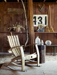 The New Far West — Wine Barrel Chair