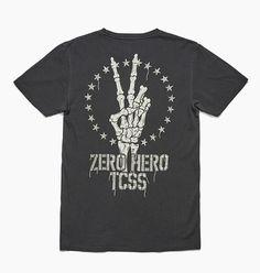 ZERO HERO TEE - Phantom