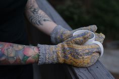 Ravelry: Project Gallery for Narwhal Mittens pattern by Ysolda Teague