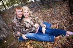 Camo Engagement Picture #hunting #engagement #picture