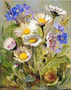 Daisies | Mill House Fine Art – Publishers of Anne Cotterill Flower Art