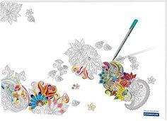 """Papier Schreibtischunterlage """"Noris Colour"""" / Größe: 60x42cm / 30 Blatt, http://www.amazon.de/dp/B0168H1KRU/ref=cm_sw_r_pi_awdl_Ei-DybAPTV6FQ"""