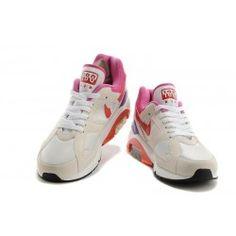 buy popular c0206 1b1e8 2014 New Nike Air Max 180 Men White Ivory White Pink Red Nike Blazer, New