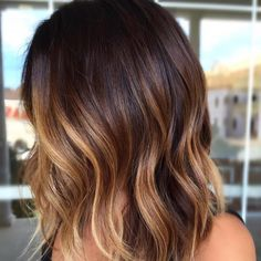 58 Charming Chocolate Waves with Blonde Lights