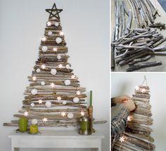 Vianočné stromčeky sú neodmysliteľnou súčasťou každej rodiny počas Vianoc. Netradičným spôsobom ako vytvoriť stromček je umiestniť ho na stenu. Máme pre Vás niekoľko riešení ako by to mohlo vyzerať. Vytvoriť vianočné stromčeky na stenu možno z rôznych materiálov ako sú napr. plsť, vetvy, palety, washi pásky, svetielka, tabuľová farba, papier a mnoho iných, ktoré nájdete v tomto príspevku. Myslíte si, že je to jednoduchší a rýchlejší spôsob oproti klasickému stromčeku? Dajte nám vedieť v ...