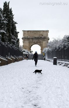 All sizes | Rome, snow | Flickr - Photo Sharing!