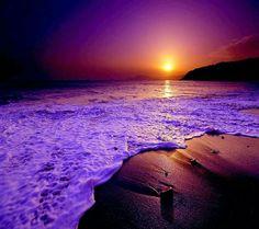 Beautiful twilight seascape