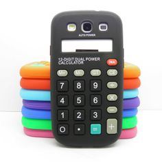 calculator phone case funny ~  For Samsung