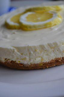 St Heaven Street: Härligt frisk citroncheesecake- perfekt till våren!