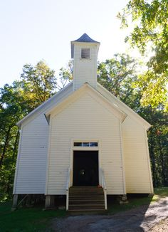 Old historic church in Cades Cove