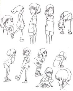 Spirited away sketches